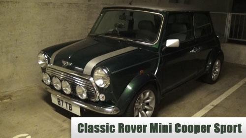 Classic Rover Mini Cooper Sport