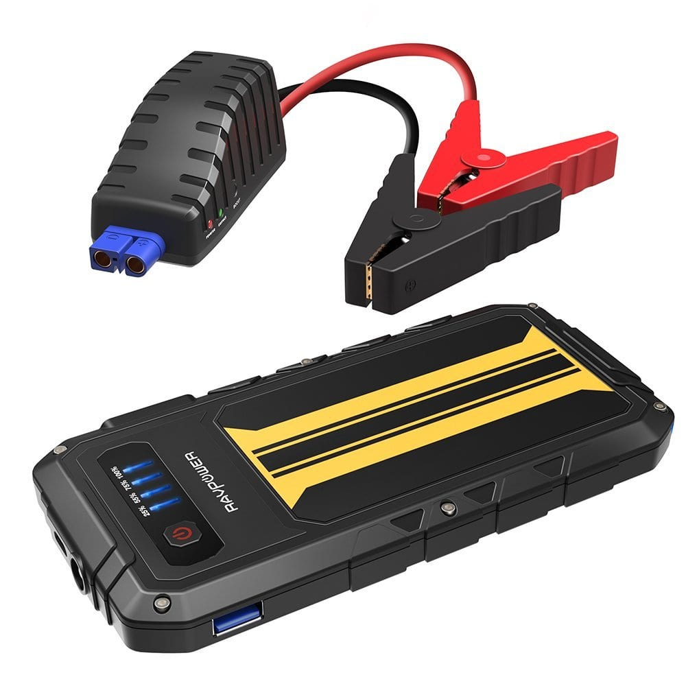 RAVPower 8000mAh Car Jump Starter with Quick Charge & Flashlight (1)