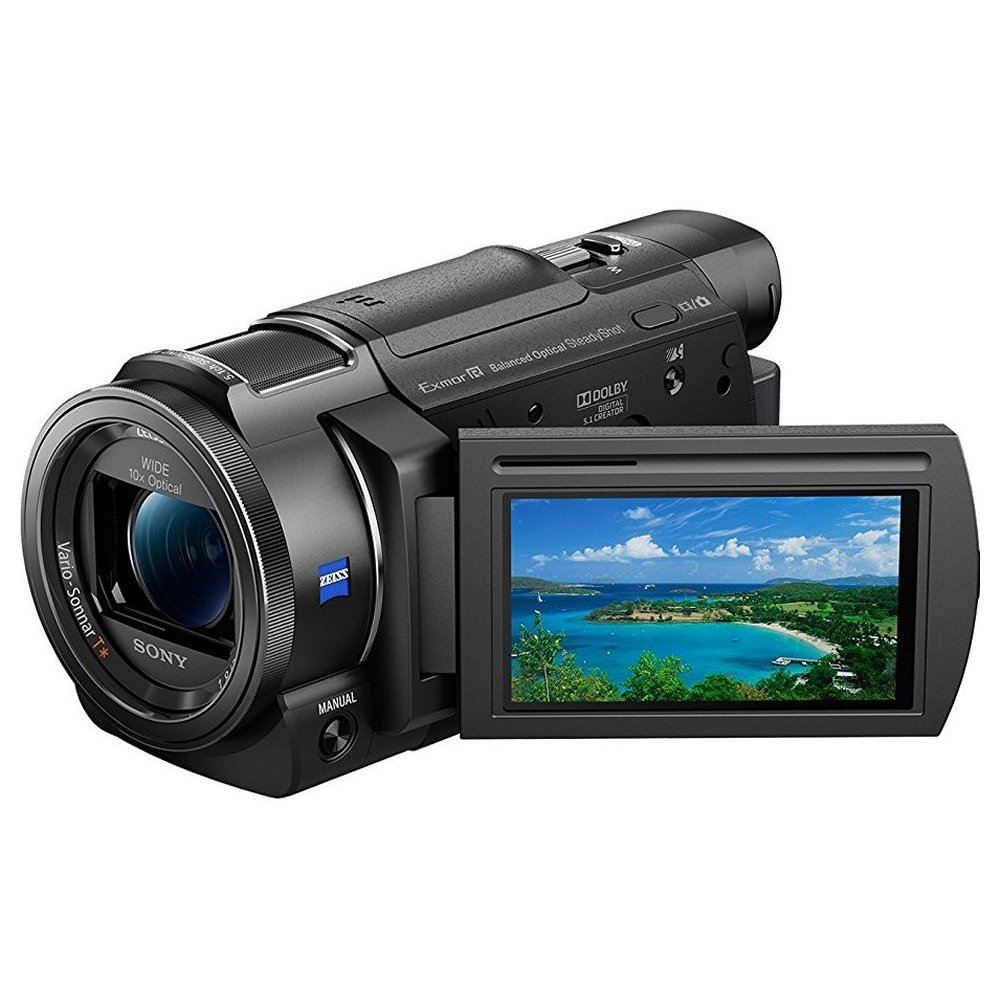 Sony FDR-AX33 Ultra HD 4K Compact Camcorder (1)