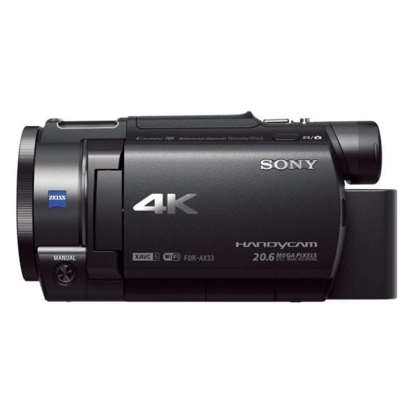 Sony FDR-AX33 Ultra HD 4K Compact Camcorder (3)