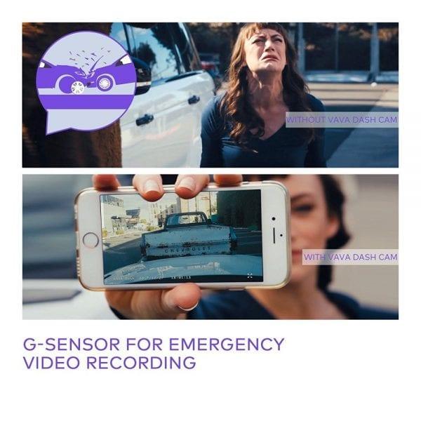VAVA Dash Cam with SONY Image Sensor (4)