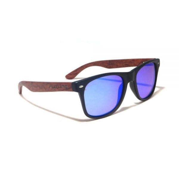 Future Wear Rosewood Polarized Shades - Black (2)