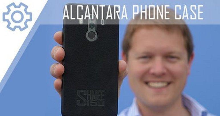 Slider Alcantara Phone Case