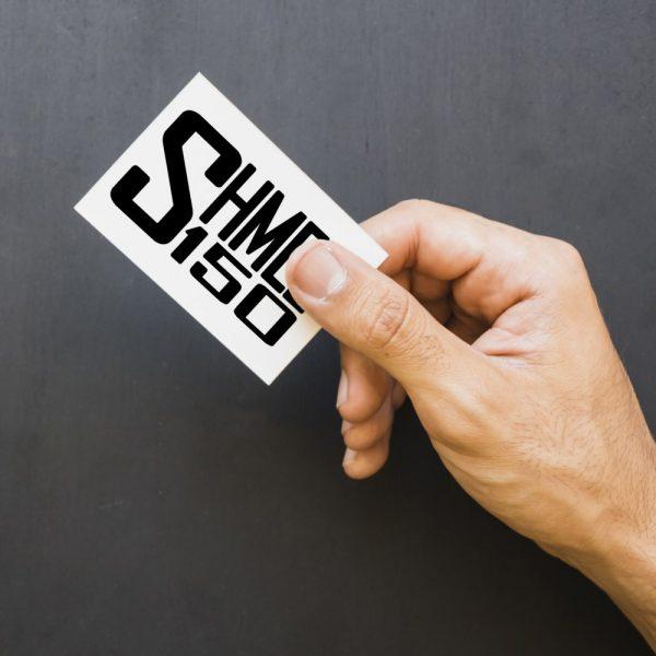 Shmee150 Logo Decal Black Small