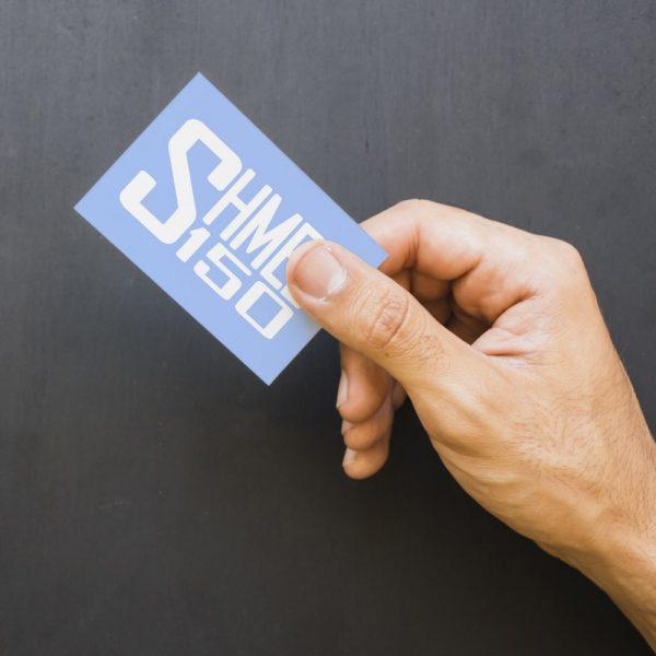Shmee150 Logo Decal White Small