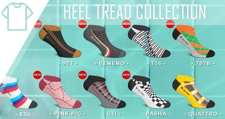 Heel Tread Socks
